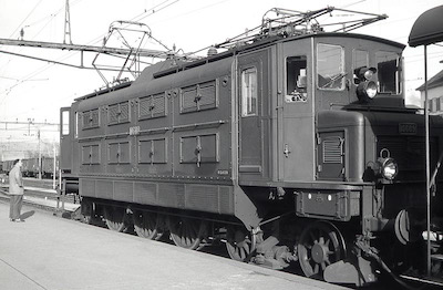 SBB Ae 3/6 Apparateseite, 1961