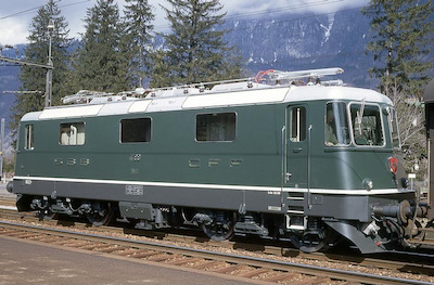 SBB Re 4/4 II, 1969 (Photo: Karl Meyer)