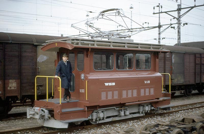 WSB Te 2/2 50, Suhr (aus Tram VBZ), 1972 (Photo: Karl Meyer)