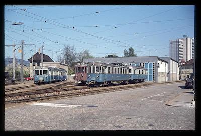 Bahnbilder von max bahnbilder aus der analogzeit for Depot st gallen