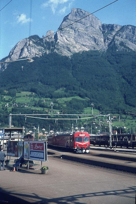 SBB Sargans, EBT Komposition, 1978