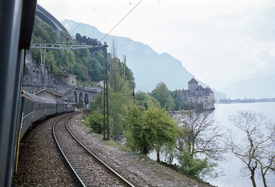 SBB Schloss Chillon, 1974