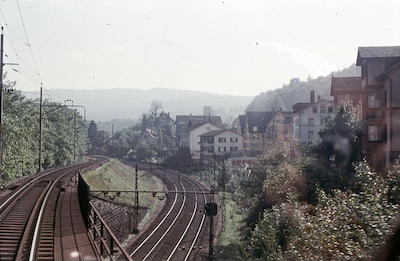 SBB Baden-Wettingen, Situation bis 1961, 1956