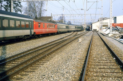 SBB Rupperswil West, Intercity, 1984