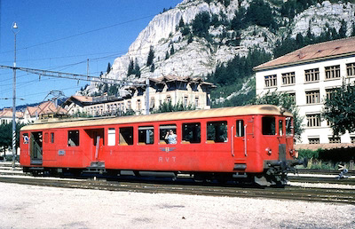 RVT Triebwagen ABDe 2/4, 1964 (Photo: Karl Meyer)