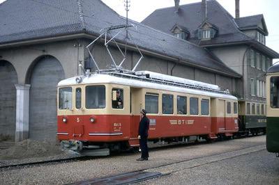 BTI Nr. 5, Täuffelen, 1969 (Photo: Karl Meyer)