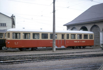 BTI B4 ex. BDB Täuffelen, 1969 (Photo: Karl Meyer)