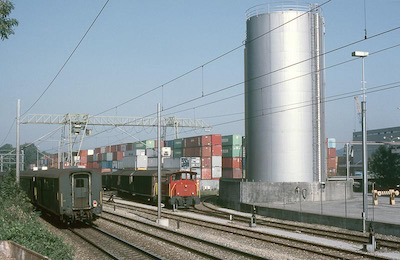 SBB Container, Frenkendorf, 1986