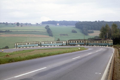 BDB Mutschellen, alte Vierachser, 1968 (Photo: Karl Meyer)