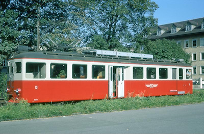BDB Umbautriebwagen, 1971 (Photo: Karl Meyer)