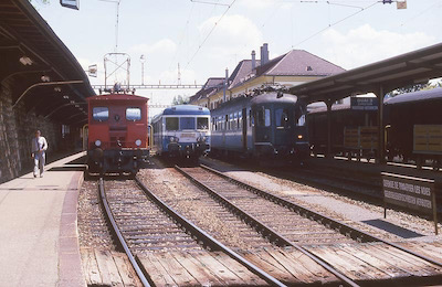 SBB/SNCF Le Locle, 1987