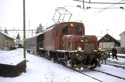 SBB De 6/6, Beinwil am See, 1970