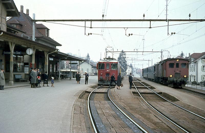 SBB Beinwil am See, 1968