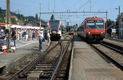 SBB Beinwil am See, 4 Züge, 2002