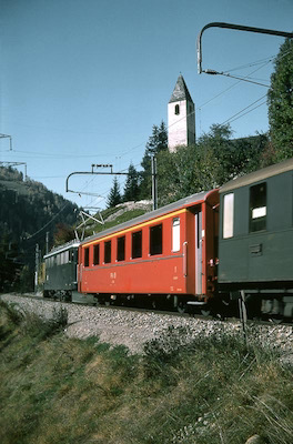 RhB Roter A, Mistail, 1968
