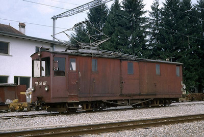 OJB Gütertriebwagen Nr. 51, Langenthal, 1969 (Photo: Karl Meyer)