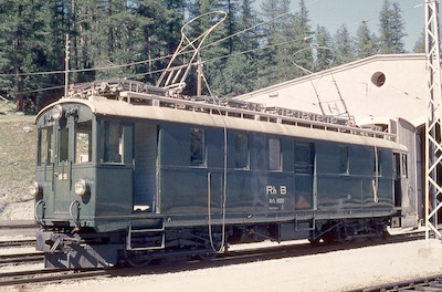 RhB Berninabahn, Dienstwagen, 1962 (Photo: Karl Meyer)