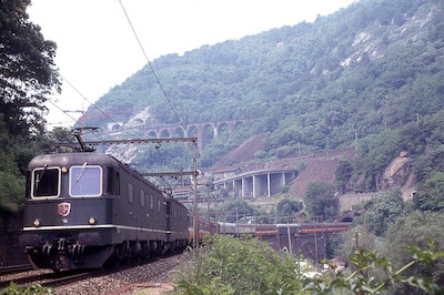 SBB Biaschina, Re 6/6, 1981