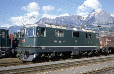 SBB Re 4/4 II Sargans, 1967 (Photo: Karl Meyer)