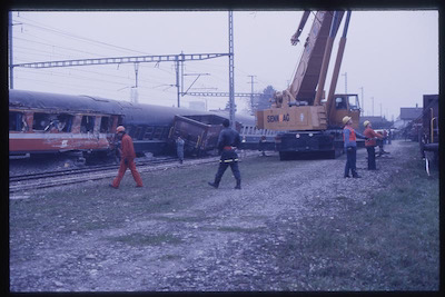 SBB Unfall Rupperswil, 1987