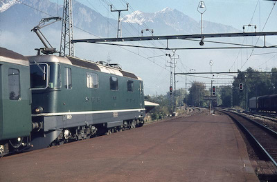 SBB Re 4/4 II Bad Ragaz, 1975