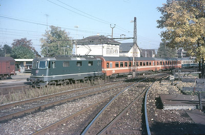 SBB Rheinfelden, orange RIC, 1985