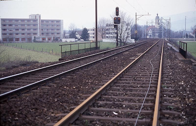 SBB Lenzburg-Rupperswil, letzte Tage, Apr. 1984