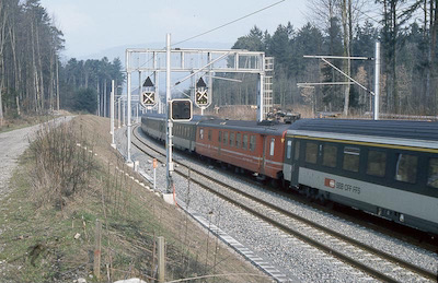 SBB Lenzhard, Intercity, 1984