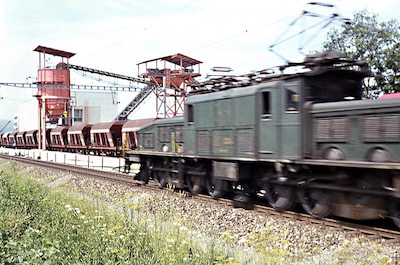 SBB Be 6/8 III, Weiach, 1963