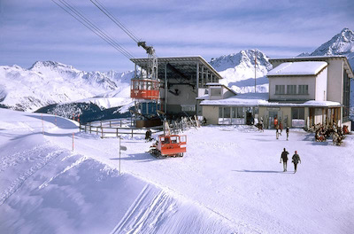 LAW Mittelstation (Arosa), 1969